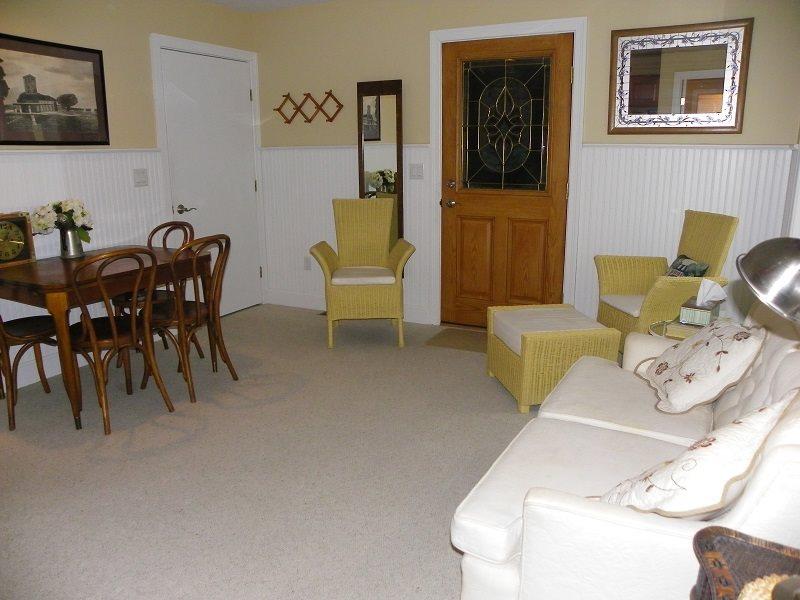 Floor Plan for Garden Level 3 Bedroom Apartment